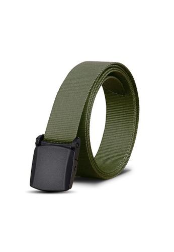Praise green Men's Belt PR067AC0FIVYSG_1