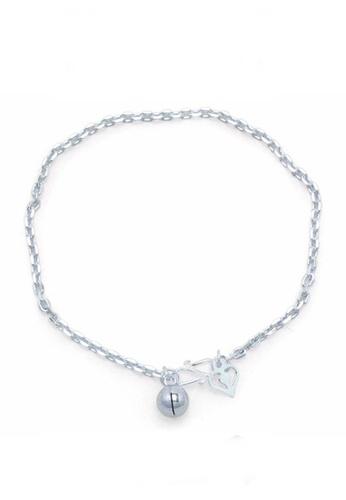 Elfi silver Elfi Genuine Solid 925 Silver Classic Anchor Bracelet SB-5M EL186AC11ENKMY_1