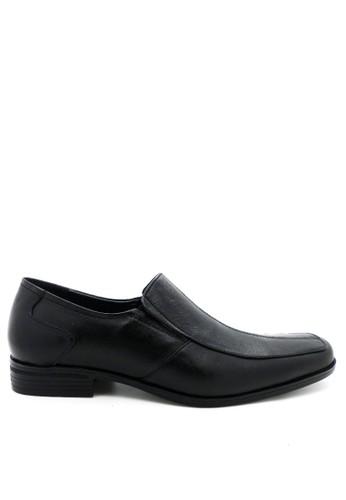 anca black MBA Uniform Shoes Graham MIIIF-01 Black MB650SH30JXTID_1