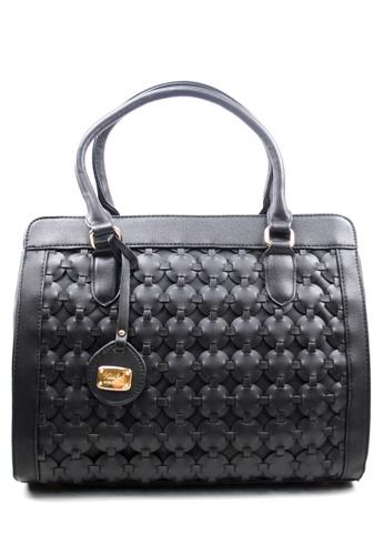 Kimbel International black HGZ27618 Handbag with Sling KI262AC0J9XPPH_1