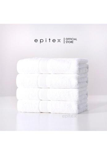 Epitex Epitex Basic Bath Towel (White) 8A26AHL9419F52GS_1