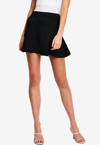 Tussah black Sophia Skirt DE1B8AA5AAD7B4GS_1