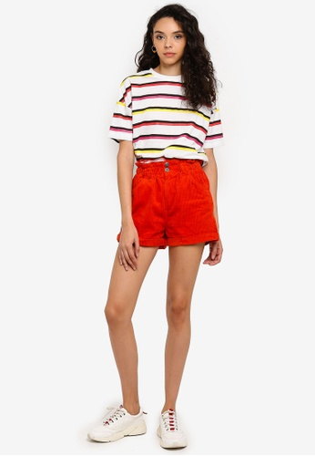 62cde56a8dcec Shop Factorie Cord Paperbag Shorts Online on ZALORA Philippines