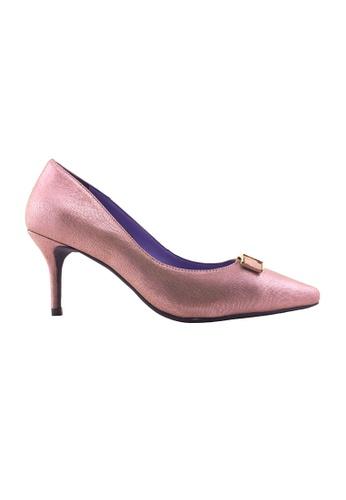 Flatss & Heelss by Rad Russel pink Pointed elegance Heels FL655SH37GHQSG_1