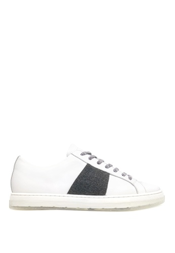 Kenneth Cole New York white COLVIN SNEAKER B - Casual Lace-Up Sneaker 79315SHE85B12BGS_1