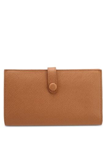 ZALORA brown Large Wallet 30F5CAC5EC587EGS_1
