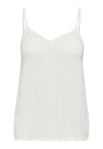 JACQUELINE DE YONG white Iris Cami Top 7DFE7AAC92B048GS_1