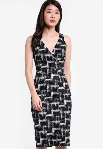 ZALORA black Collection Double Strap Dress 92E8FAA79B3B25GS_1