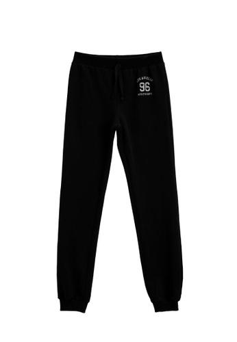 KOTON black Cotton Jogger Pants 6794AKA455FEFFGS_1