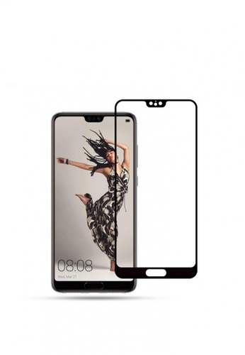 MobileHub black 5D Full Screen Tempered Glass Curved Screen Protector for Huawei P20 Pro 0232EAC37EBE1BGS_1