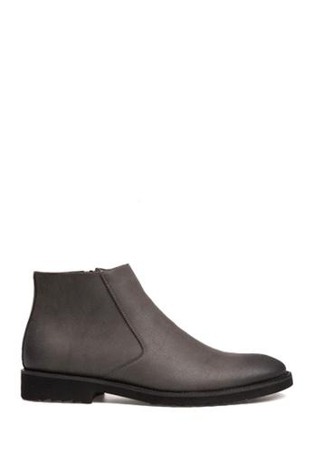Twenty Eight Shoes grey Basic Low-Cut Boots VM825 E2484SH4F68E37GS_1