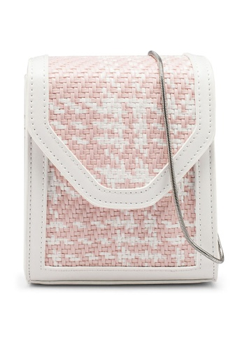 nose white Two Tone Crossbody Bag A8685ACFD3F007GS_1