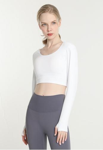HAPPY FRIDAYS Women's Yoga Long Sleeve Tees DSG98 206EEAA16F3ECCGS_1