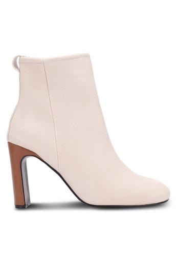 Twenty Eight Shoes beige Slim Ankle Boots TW281SH0S0IJMY_1