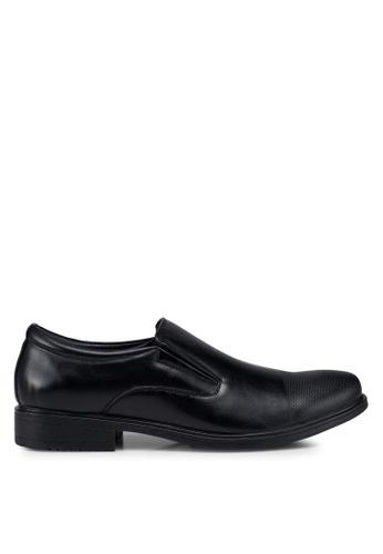 Bata black Classic Derby Shoes 5AE06SH4E7FED3GS_1