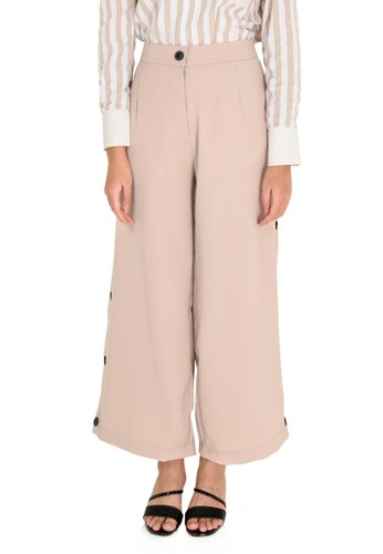 Elizabeth Clothing beige Elizabeth Kaamisha Pants 018B2AA5352970GS_1
