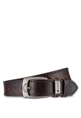 Lumberjacks brown Lumberjacks 40mm Belt LU545AC37MRMMY_1