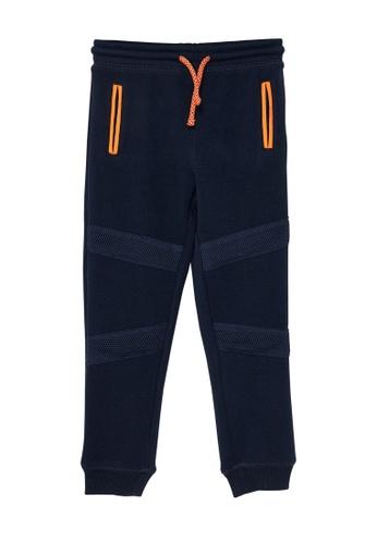 Du Pareil Au Même (DPAM) navy Navy Pants E8523KAEA5B7FCGS_1