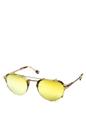 HEX EYEWEAR beige Businessman - John M. - Optical with Clip-on - Italy Design HE671AC2V1KWHK_1