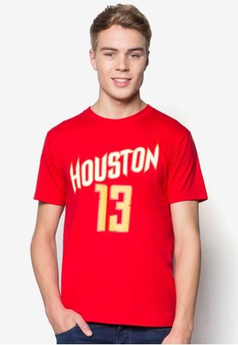 Houston #esprit台灣門市13 籃球風T 恤, 服飾, T恤