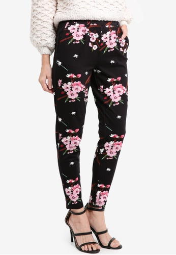ONLY black ONLY ONE Poptrash Easy Print Pant ON573AA0T0CZMY_1