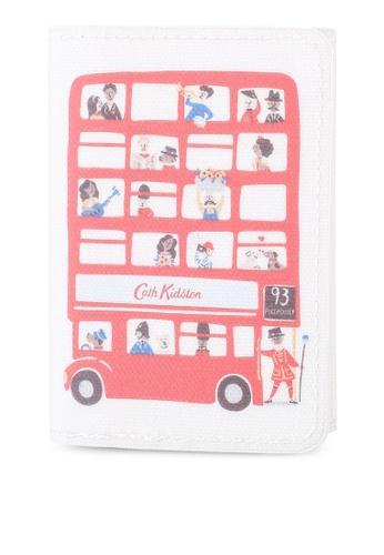 Cath Kidston beige London People Ticket Holder CFE49AC23C8243GS_1