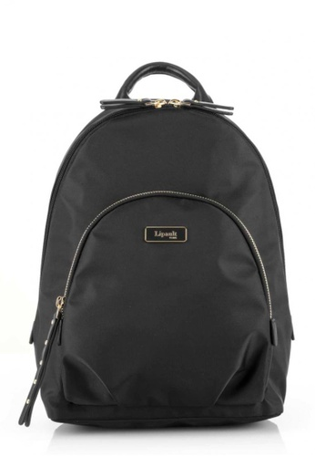 Lipault black Lipault Plume Essentials Round Pocket Backpack S 96C65AC66A6FABGS_1