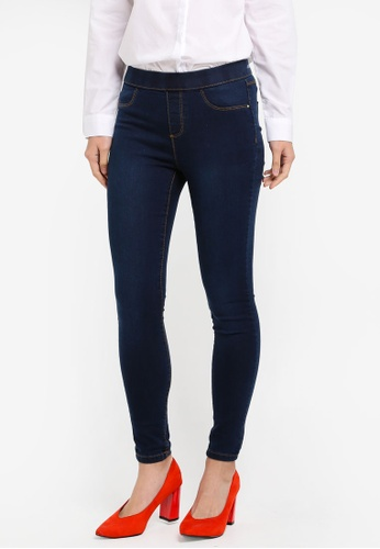 Dorothy Perkins blue Indigo Authentic Eden Jeggings DO816AA0SJ6FMY_1