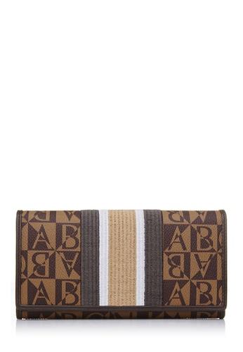 BONIA brown Brown Renaissance Two Fold Wallet BO777AC09VVEMY_1