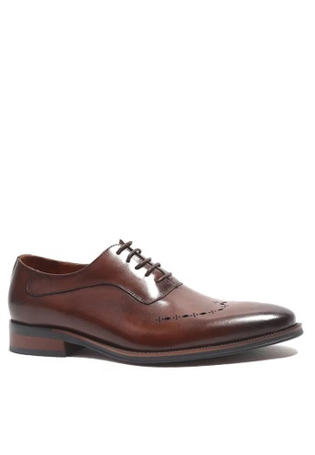 Twenty Eight Shoes Vintage Leather Derby Shoes M125-1 35685SHE70D6BEGS_1