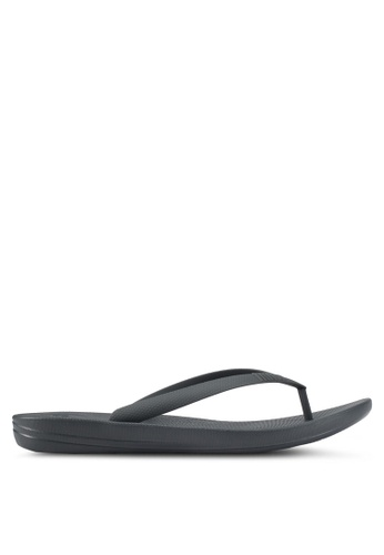 Fitflop grey iQushion Ergonomic Flip Flops 6170DSH7405BF7GS_1