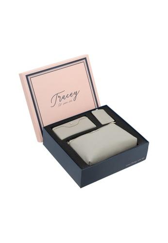 Tracey grey Tracey Crown-Elly Sling Bag, Wallet, Lanyard Card Holder Gift Box Set 1F12DAC7C1154BGS_1