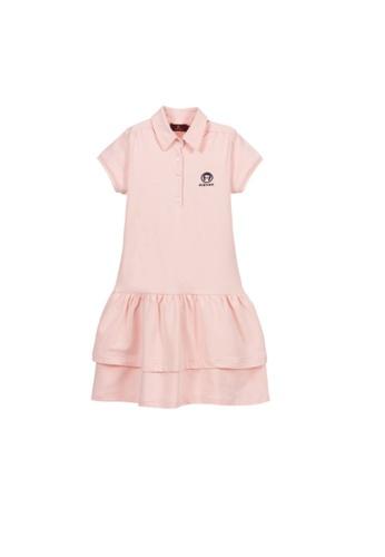 AIGNER KIDS pink AIGNER GIRLS DRESS 5F55EKA0E6C4D6GS_1