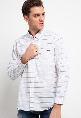 Lois Jeans white Stripes Shirts KLL127 61D11AA808D3EEGS_1