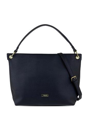 Mel&Co black Faux Leather Shoulder Bag 3C4E0AC5E71B2AGS_1
