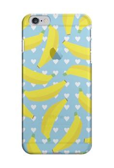 Banana Transparent Hard Case for iPhone 6