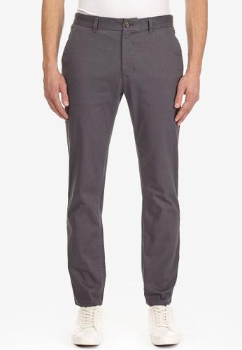 Men/'s Burton/'s Charcoal Grey Tailored Fit Pinstripe Suit