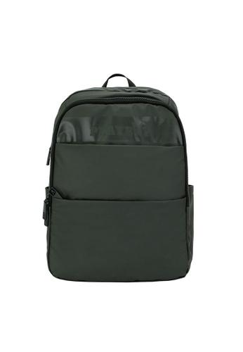 Playboy green Backpack 27D51AC615225CGS_1