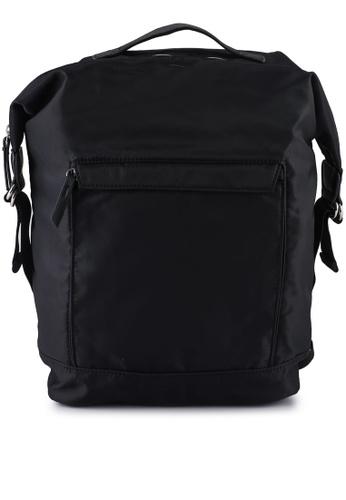 niko and ... black Plain Backpack 4806AAC9936824GS_1