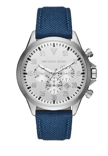 MICHAEL KORS brown Gage Chronograph Watch MI248AC0K95APH_1