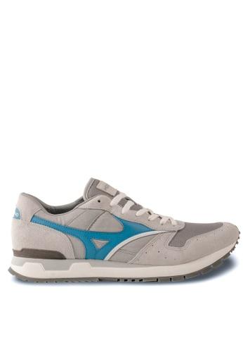 Mizuno grey GV87 Lifestyle Shoes MI461SH83EDOHK_1