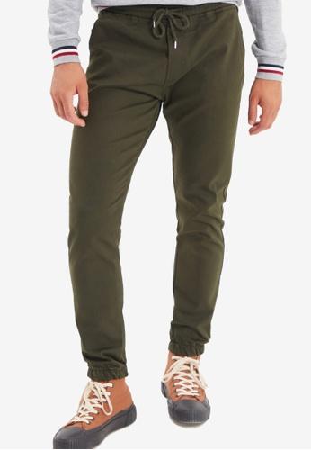 Trendyol green Khaki Jogger Pants 1B865AA954F311GS_1