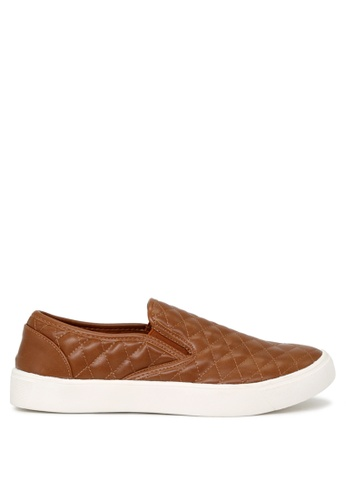 London Rag brown Cognac Slip-on Sneakers 61C50SH2E9016CGS_1