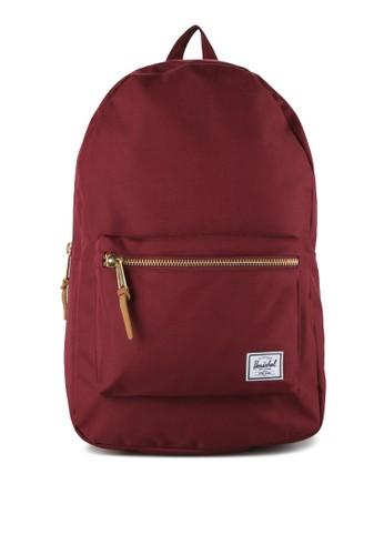 Herschel red Settlement Backpack HE449AC0UDOPID_1