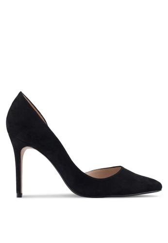 Mango black Asymmetric Stiletto Shoes C2A8CSH5A5AB1FGS_1