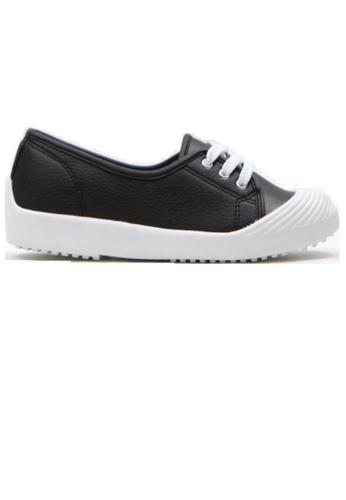 Crystal Korea Fashion 黑色 韓國製百搭舒適平底輕便鞋 C707BSH87DA659GS_1