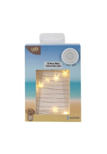 Klosh Fairy Light - 20 Outdoor Waterproof Warm LED Lights 56FECES7A825C8GS_1