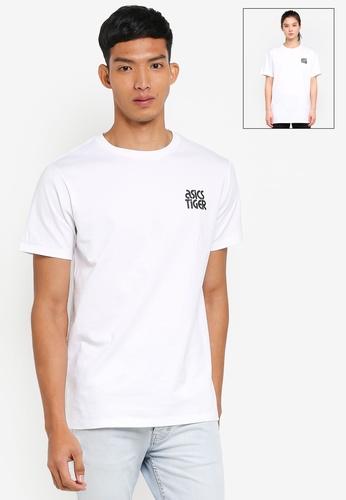 ASICSTIGER white Small Logo Tee AS610AA0SVTOMY_1