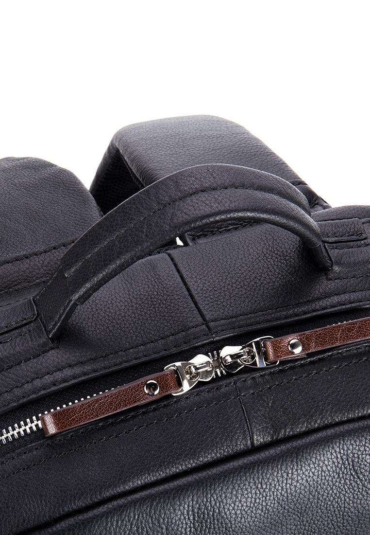 Backpack Black Mens Cow Laptop Leather Business Enzodesign 15 Fjallraven Kanken 15ampquot Blue Ridge