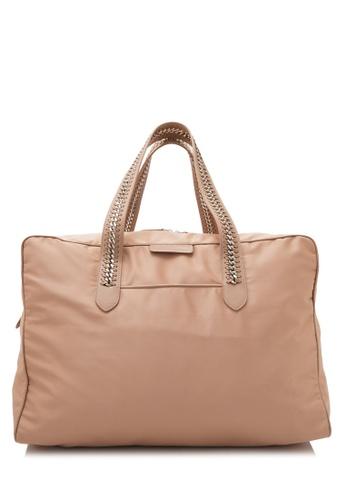 STELLA MCCARTNEY beige Pre-Owned Stella McCartney Falabella GO Travel Bag 1E4AFAC66FA757GS_1